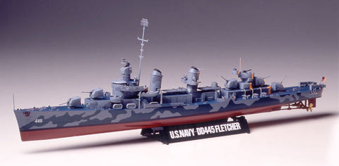 Tamiya 78012 1:350 US Navy DD445 Fletcher
