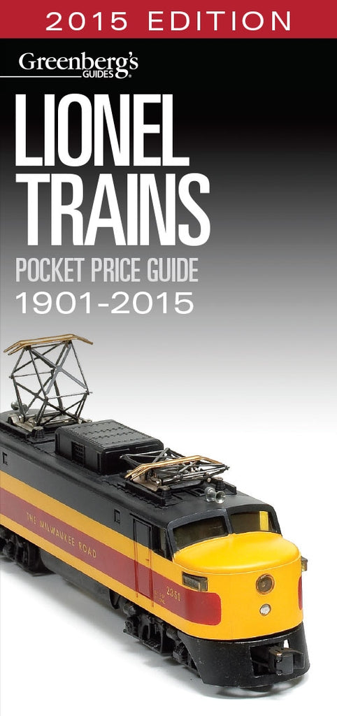 Kalmbach 108715 Lionel Pocket Price Guide 1901-2015
