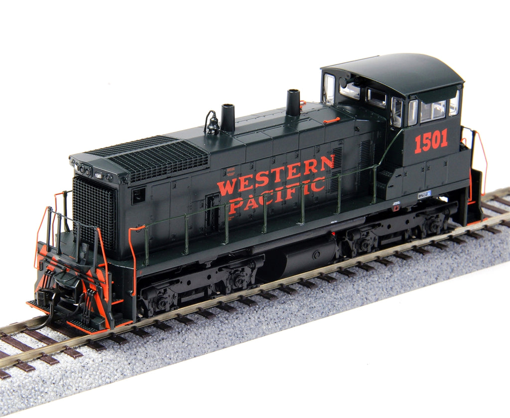 Broadway Limited 3329 HO Western Pacific EMD SW1500 Paragon2™ #1503