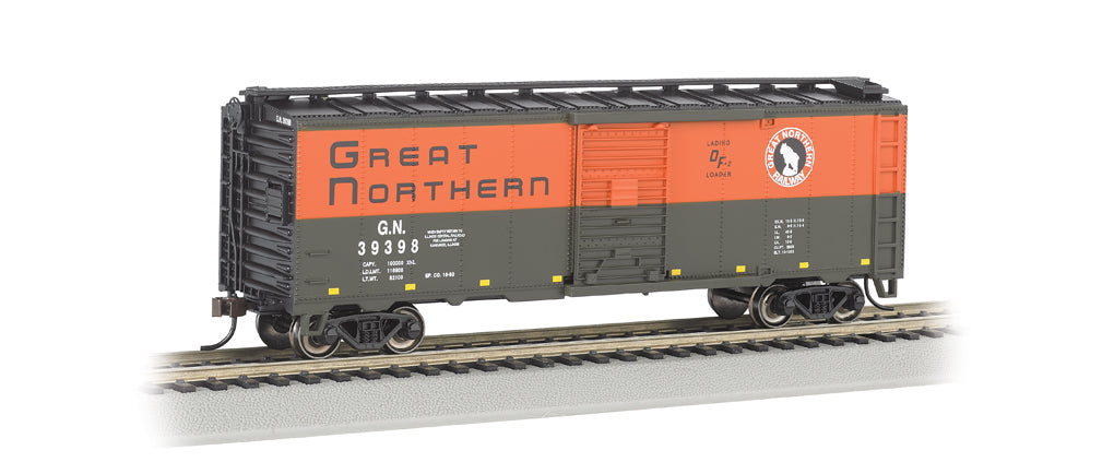 Bachmann 17059 N Great Northern AAR 40' Steel Boxcar #39398