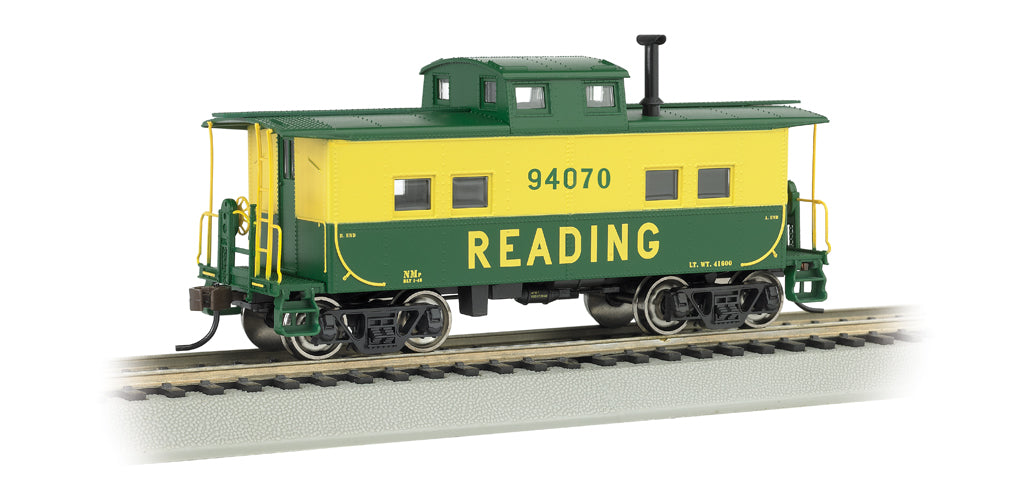 Bachmann 16807 HO Reading Northeast-Style Steel Cupola Caboose #94070