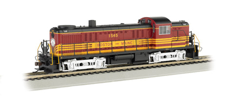 Bachmann 64201 HO Boston & Maine Alco RS-3 Diesel Locomotive #1545