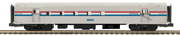 MTH 20-68207 O 70' Ribbed RPO, Amtrak/PHII