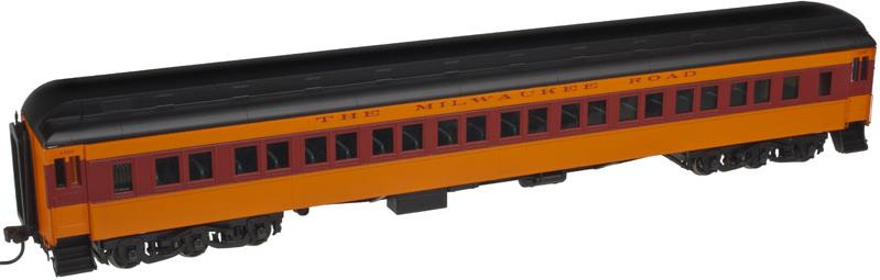 Atlas 20001716 Milwaukee Heavyweight Paired Window Passenger Coach Car