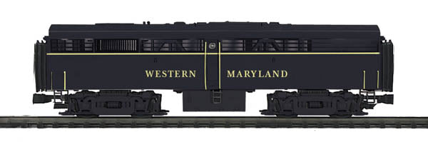 MTH 20-20304-3  Western Maryland FA-2 B-Unit Diesel Engine (Non-Powered)