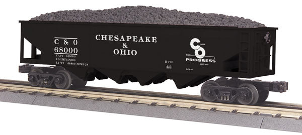 MTH 30-79426  Chesapeake & Ohio Hopper Car w/Operating Coal Load
