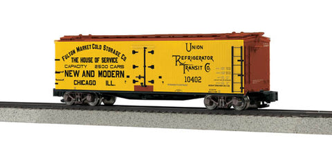MTH 35-78004 S Modern Fulton Market 40' Woodsided Reefer Car