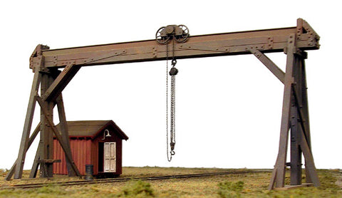 B.T.S. 27491 HO McCabe Timber Gantry Kit
