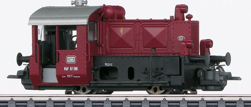 Marklin 36819 HO German Federal Railroad DB Kof II Open-Cab Switcher - 3-Rail