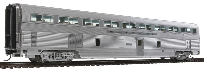 85' Budd Hi-Level 72-Seat Coach - Lighted - Ready to Run
