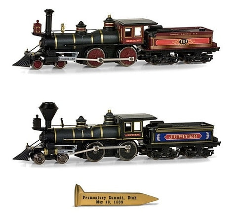 MicroTrains 99305250 N Scale CP/UP Golden Spike Set