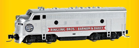 MicroTrains 98001525 Z   Ringling Bros. and Barnum & Bailey EMD F7A - Standard DC #1881