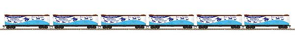 MTH 80-90025 HO R40-2 Reefer, Gerber Products (6)