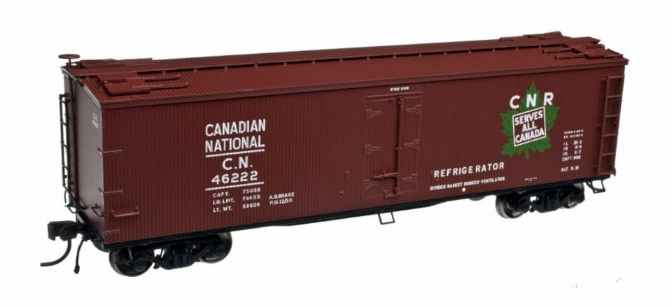 Atlas 20002716 HO Scale Canadian National 40' Wood Reefer #46257