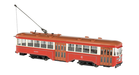 Bachmann 91704 G Chicago Surface Lines Peter Witt Streetcar #6319