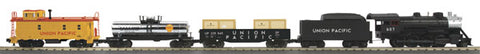 MTH 30-4228-0 UP O27 2-8-0 Steam Freight Train Set w/Loco Sounds