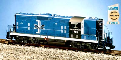 USA Trains R22116 G Boston & Maine EMD GP9 Diesel Locomotive #1709