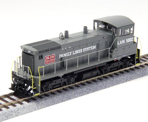 Precision Craft Models 3333 HO SW1500 Seaboard Coast Line/Louisville and Nashville #5006/DCC