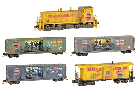 MicroTrains 99321230 Zombie Halloween Train-Only Set