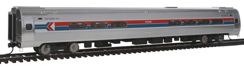 Walthers 920-11242 HO Amtrak 85' Amfleet I Amcafe (Phase 1, 1 Arrows)