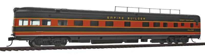 85' P-S Coulee 6-4-1 Observation - Standard - Ready-to-Run - Empire Builder