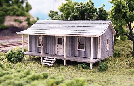 Blair Line 076 N Company House Laser-Cut Building Kit