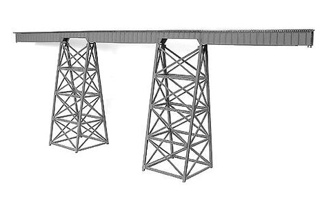 Micro Engineering 75-519 N 320' Tall Steel Viaduct Standard Bridge Kit