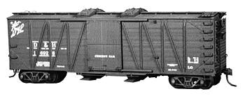 Tichy 4030 HO Undecorated USRA 40' Boxcar/Covered Hop Cement Ser Conversion Kit