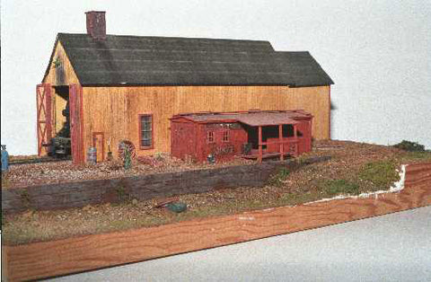 JV Models 2024 HO Haliburton Engine House