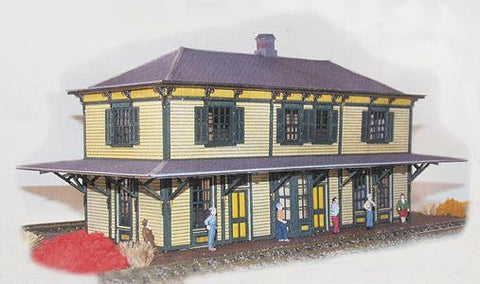 N Scale Architect 10013 N Central Of New Jersey Standard 2-Story Station Kit