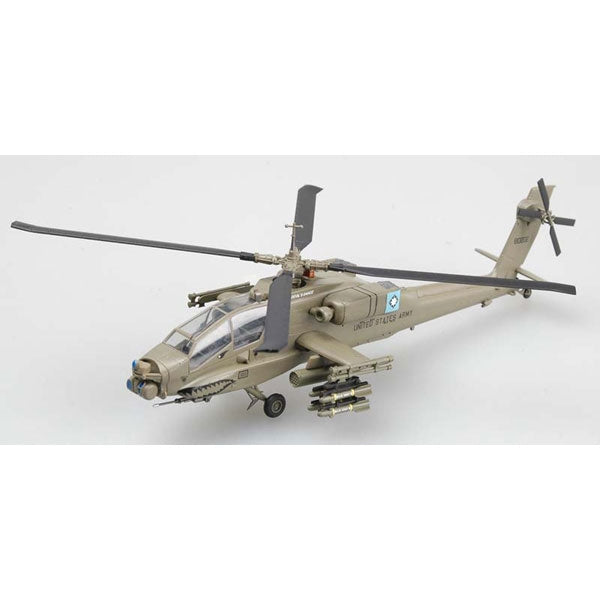 Easy Models 37029 1:72 AH-64A 88-0202 Helicopter Plastic Model Kit