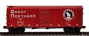 InterMountain 66005 40' 12-Panel Boxcar - Ready to Run