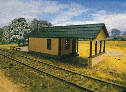 Branchline Trains 679 HO  Yard Office - Laser-Art Kit