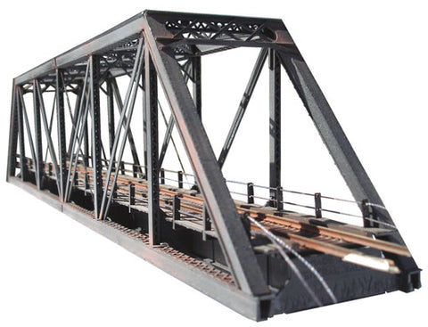 Central Valley Models 1820 N 150' Pratt Truss Bridge Kit With Walkways