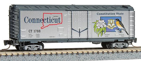 MicroTrains 50200538 Z Connecticut State Car 40' Plug Door Boxcar #1788