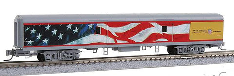 MicroTrains 55300015 Streamlined Pullman-Standard Smoothside Baggage Car - Ready to Run