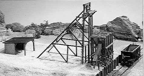 Campbell Scale Models 352 HO Mine Head Frame Kit