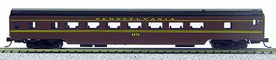 Con-Cor 40021 N Pennsylvania Railroad 85' Smooth-Side Coach Car with Micro-Trains® Couplers