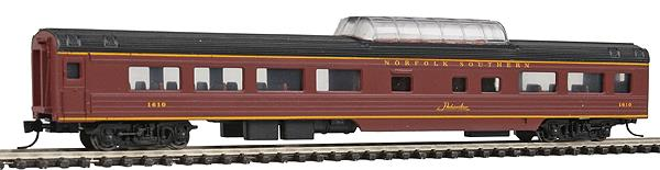 Con-Cor 40244 85' Smooth-Side Mid-Train Dome - Ready to Run w/Micro-Trains(R) Couplers
