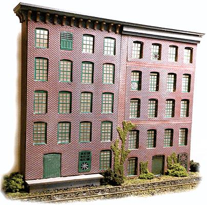 "The N Scale Architect 50065 N 10"" x 14"" Flemish Bond Brick Styrene Sheets"