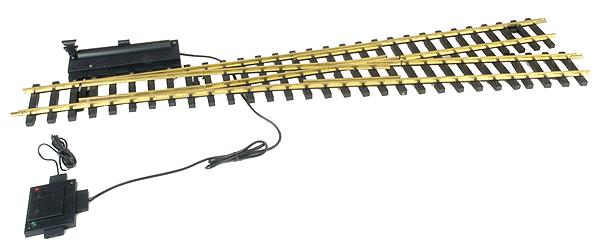 USA Trains 81605 G Brass #6 Right Hand Remote Switch Turnout