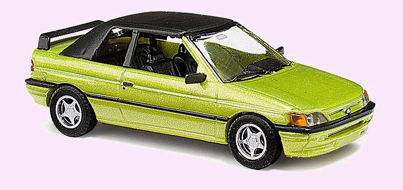 Busch 45708 1991 Ford Escort Convertible - Assembled