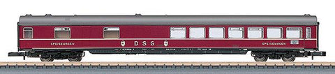 Marklin 87131 Z German Federal Railroad DB Type WR4um-64 Diner