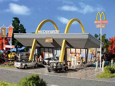 Vollmer 770-7765 N Scale McDonald's Restaurant Kit