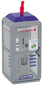 Brawa 4561 N Telephone Box Swisscom