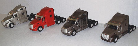 Peterbilt 587 Tractor 4-Pack - Assembled