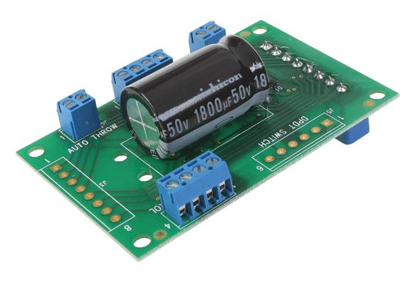 DCC Specialties TORTWIZKID Tortoise Buddy Turnout Motor Control Light & Terminal Plug-In Board