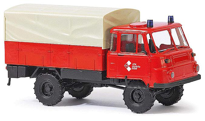 Busch 50218 1973-1990 Robur LO 2002 A Low-Side Delivery Truck - Assembled