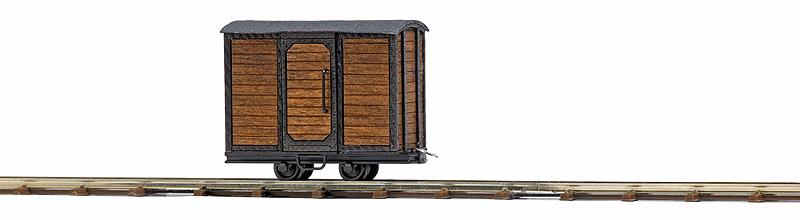 Busch 12230 Wood Boxcar - Ready to Run - Feldbahn