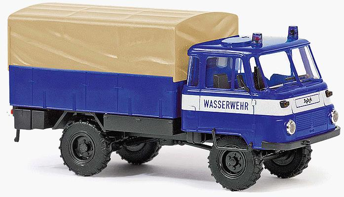 Busch 50212 1973-1990 Robur LO 2002 A Low-Side Delivery Truck - Assembled